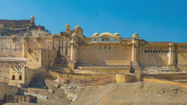 Panorama-on-Amber-Fort-famous-travel-destination-in-Jaipur-Rajasthan-India-