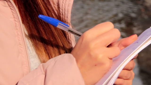 A-young-journalist-takes-notes