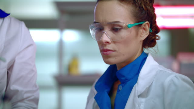 Portrait-of-female-doctor-in-medical-lab-Lab-doctor-working-in-research-lab