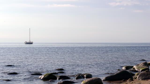 Yacht-near-coast