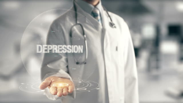 Doctor-holding-in-hand-Depression