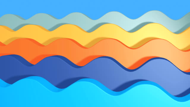 Seamless-looping-animated-wave-background