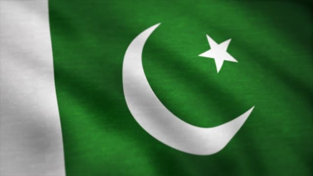 Flag-of-the-Pakistan-waving-on-wind-Pakistan-flag-animation