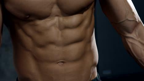 Details-of-a-Fitness-Model-s-Torso