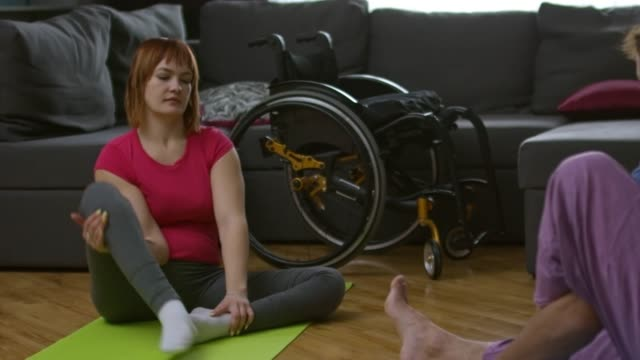 Disabled-Woman-Practicing-Yoga