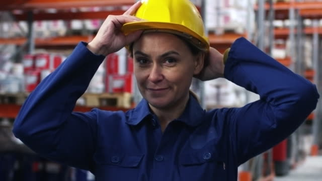 Female-Warehouse-Worker-Smiling