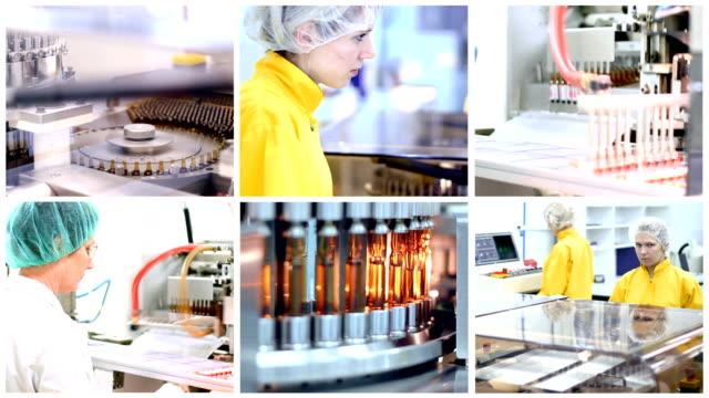 Vaccine-Manufacturing-Multi-screen-Video