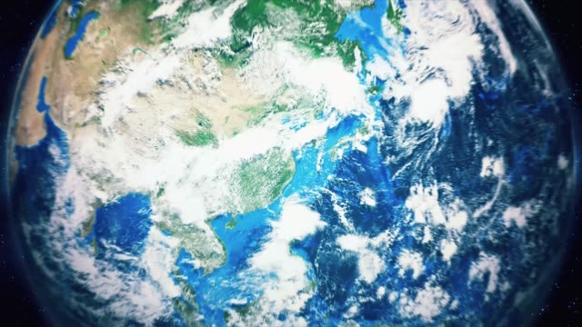 Zoom-From-Earth-and-Back-Travel-to-Shanghai-Daytime