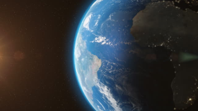 Earth-Orbit-From-Space---3D-Animation
