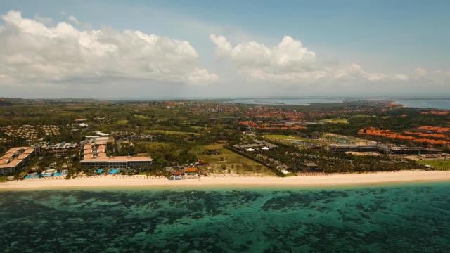 Aerial-view-beautiful-beach-Bali