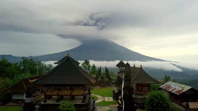 eruption-of-Agung-volcano