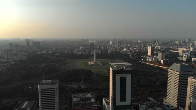 Aerial-view-of-Monumen-Nasional