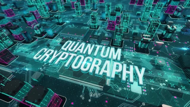 Quantum-cryptography-with-digital-technology-concept