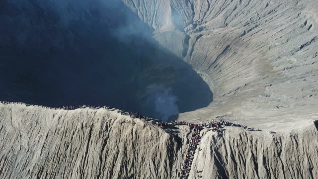 Mountain-Bromo-crater-East-Java-Indonesia-Taken-from-drone