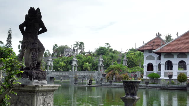 Taman-Ujung-water-palace-which-is-situated-near-the-ocean-and-decorated-by-beautiful-tropical-garden-Bali-Indonesia-