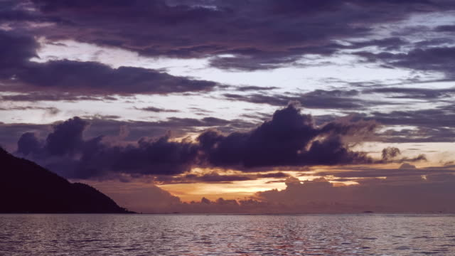 Monsuar-and-Ocean-after-Sunset-Blue-hour-Calm-Waves-glistening-on-the-ocean-surface-West-Papua-Raja-Ampat-Indonesia