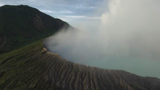 Toma-aérea-de-Monte-Bromo-Java-Indonesia