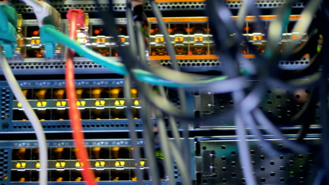Modern-computer-server-at-a-network-data-center-render-farm-4K-
