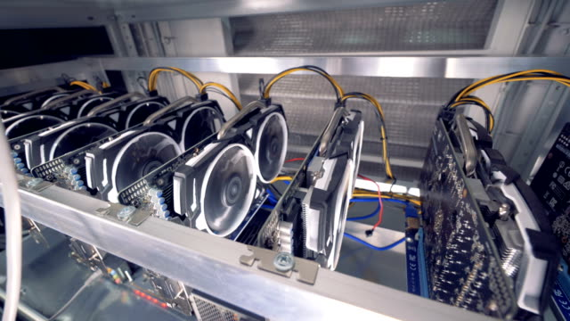 Bitcoin-mining-process-held-by-means-of-graphics-processing-units