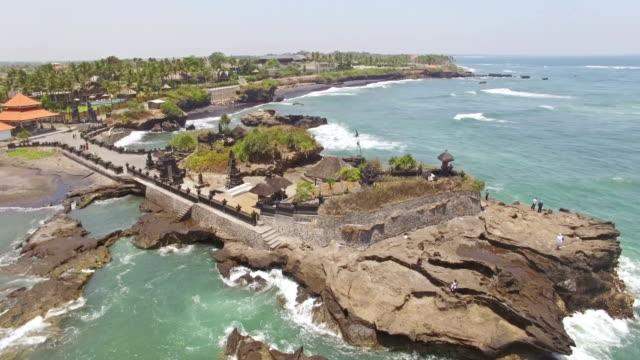 Small-temple-Bali-aerial-4k