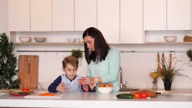 Mother-and-son-in-the-kitchen