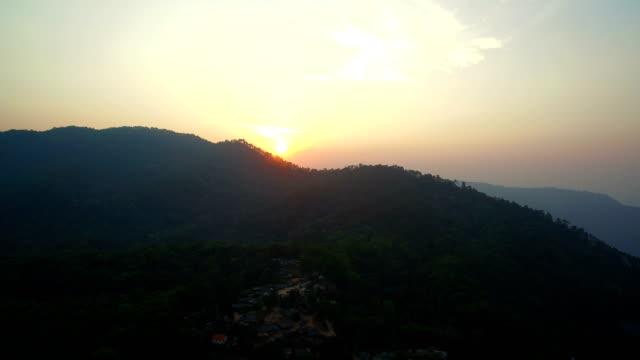 aerial-view-Bann-Mong-Kunchangkien-hill-tribe-on-Doi-Pui