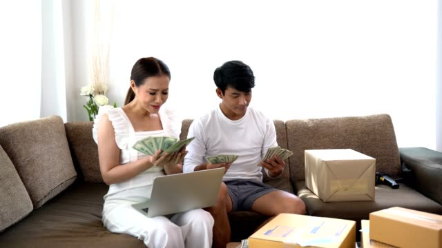 Couple-get-rich-and-success