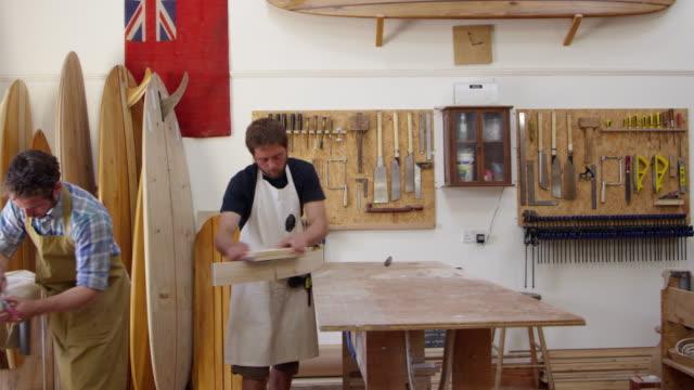 Carpenter-And-Apprentice-Make-Surfboards-Shot-On-RED-Camera