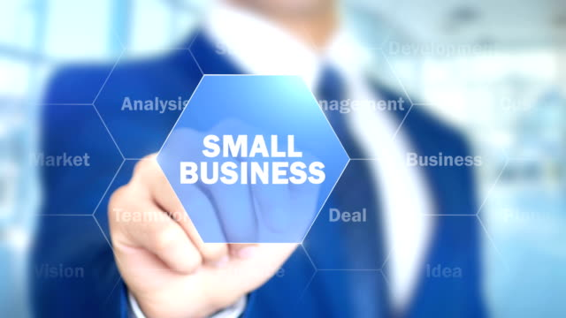 Small-Business-Man-Working-on-Holographic-Interface-Visual-Screen