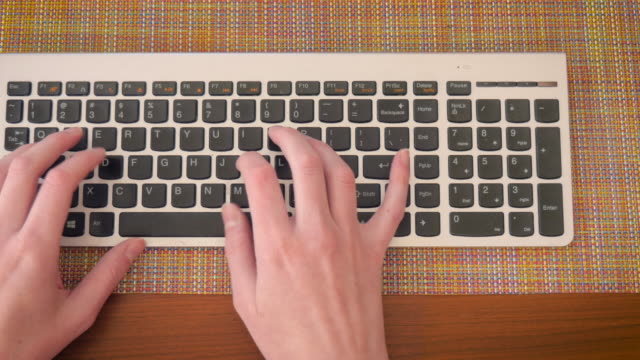 Female-STEM-Student-Types-on-Computer-Keyboard