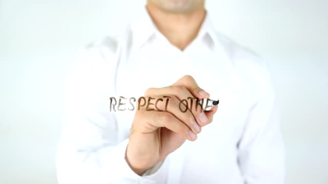 Respect-Others-Man-Writing-on-Glass