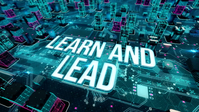 Learn-and-lead-with-digital-technology-concept
