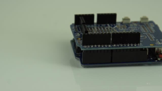 Close-up-of-Arduino-board-Editorial-use-only-