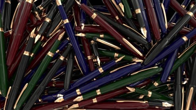 Plumas-pluma-escritura-negocios-examen-escuela-Colegio-Universidad-4K-de-la-transición