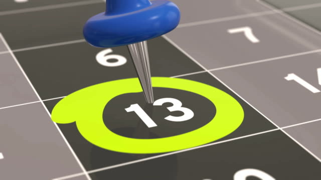 Pin-on-the-date-number-13-in-calendar-