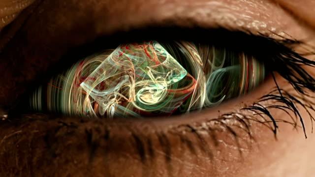 Zoom-ocular-en-el-iris-con-polvo-neural-abstracto