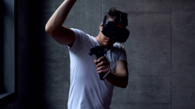 Fighting-Game-with-a-VR-Headset-and-Motion-Controllers