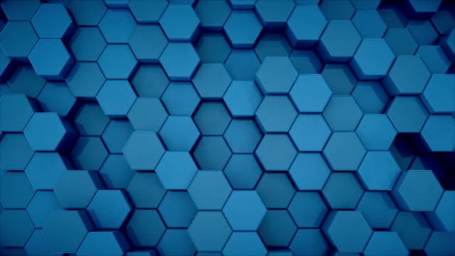 Hexagonal-Grid-Abstract-Technology-Animation-