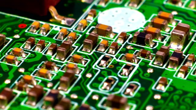 Placa-de-circuito-con-Microchips