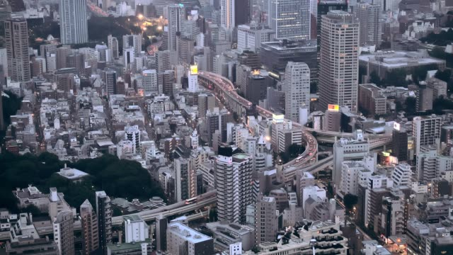 Tokyo-Japan-cityscape-and-highways-