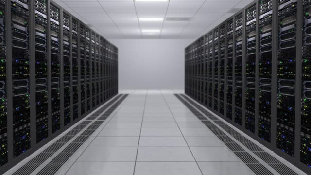 3D-rendering-of-the-server-room-with-working-computers-of-data-servers-with-flashing-LEDs