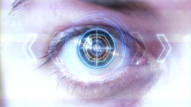 Futuristische-Auge-HUD-/-monitor-
