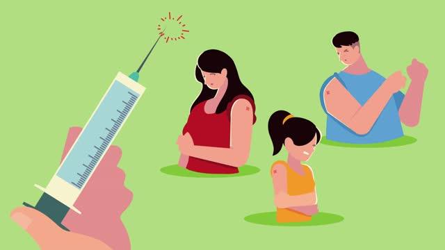 Hand-mit-Impfstoffspritze-und-Patienten