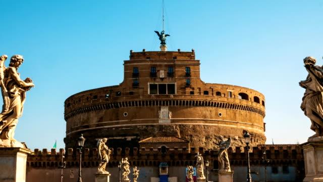 hyper-lapse-towards-the-castle-of-sant-angelo-Rome