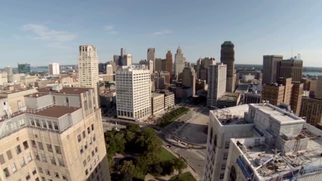 Detroit-Aerial-City
