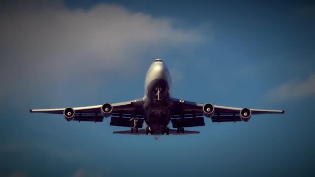 Jumbo-Jet-Overhead-Fly-over