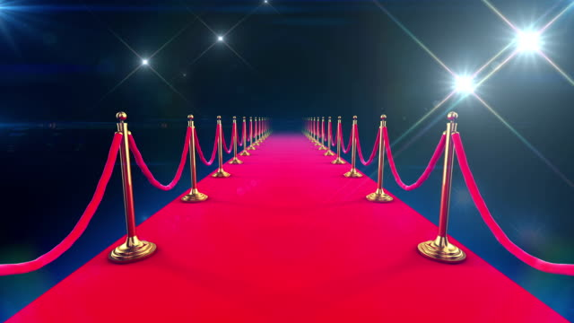 Red-Carpet-Event-Looped-animation-of-a-walk-down
