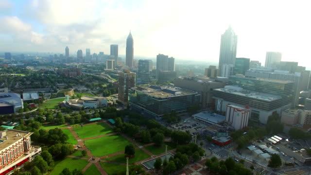 Aerial-video-Downtown-Atlanta-Georgia