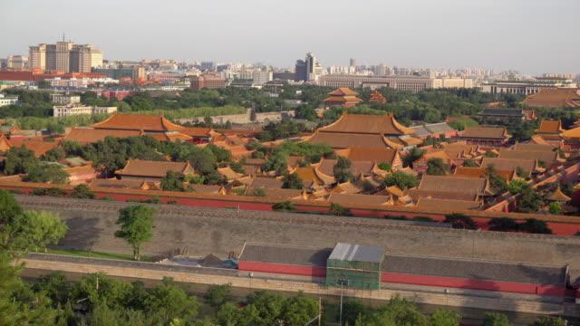 Aerial-view-of-Forbidden-City-in-Beijing