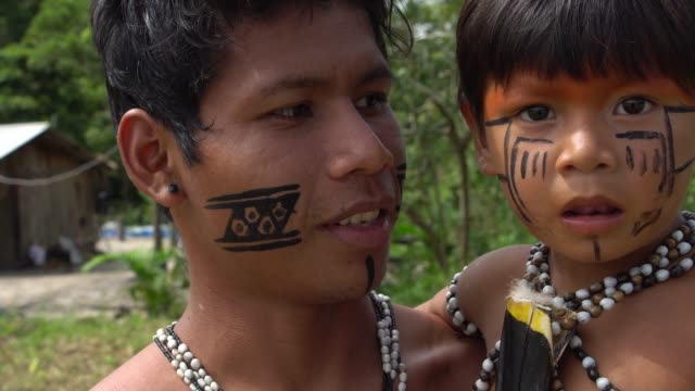 Native-Brazilian-Father-and-Son